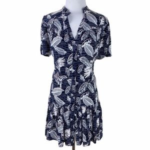 NEW Primark Palm Leaf Button Down Shirt Dress